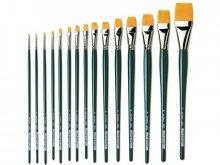 Da Vinci Nova oil/acrylic brush, flat