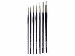 Da Vinci Impasto acrylic brush, short, round
