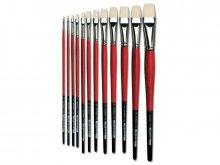 Da Vinci Öl-/Acrylpinsel Maestro2, flach