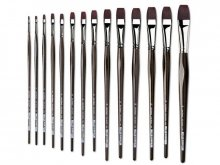 Da Vinci Top-Acryl paintbrush, flat