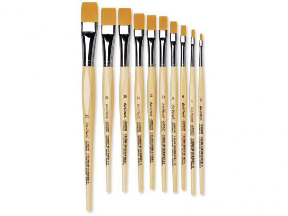 Da Vinci school brush Junior Synthetics, flat