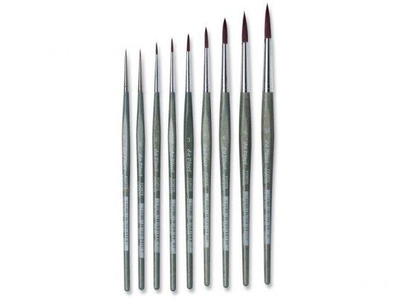 Da Vinci Forte hobby brush , round