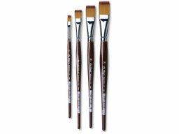 Da Vinci Vario-Tip hobby brush , flat