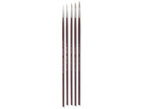 Da Vinci Kolinsky striper, m. length,round,pointed