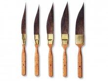 Da Vinci Schwertschlepper, kurzer, brauner Stiel