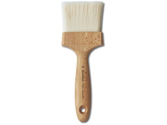 Da Vinci stain brush, flat