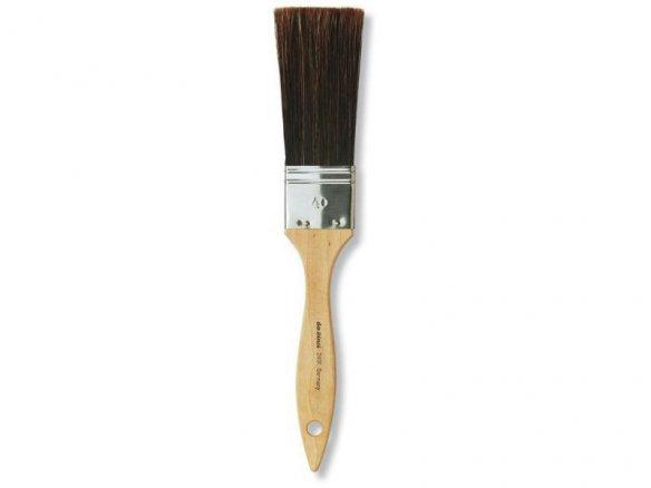 Da Vinci Schlägerpinsel, flach