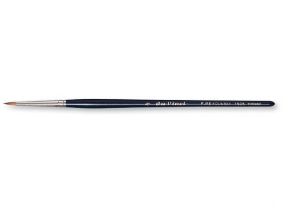 Da Vinci retouching brush Kolinsky,ext.short,round
