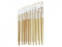 Bristle brush set, long handled
