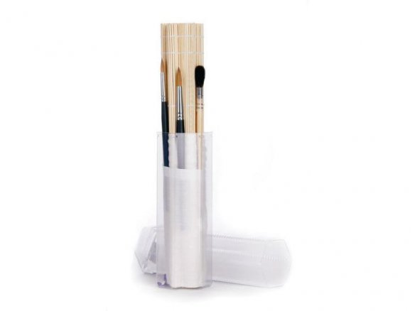 Watercolour Brush Set in brush roll
