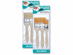 Pebeo Pop Art brush set, wide