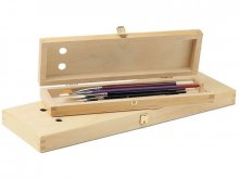 Beechwood brush box