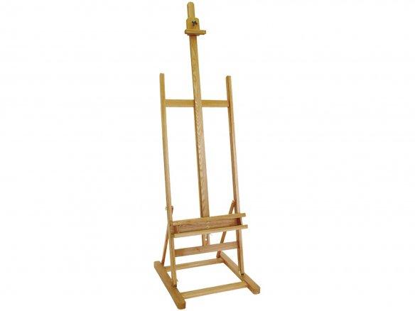 A-frame studio easel, beechwood