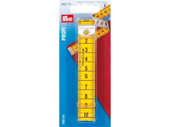 Prym heavy duty tape measure, professional