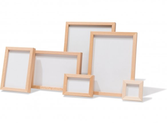 Mini picture frame, beech