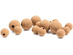 Cork ball, drilled