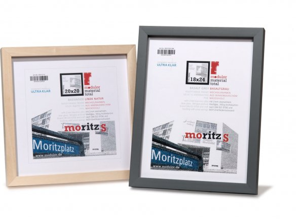 Moritz S interchangeable picture frame wood