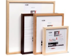 Nena S interchangeable picture frame, wood