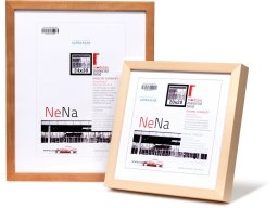 Nena L interchangeable picture frame, wood