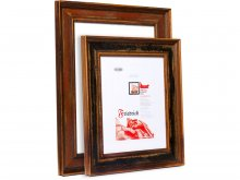 Interchangeable picture frame, wood, Friedrich