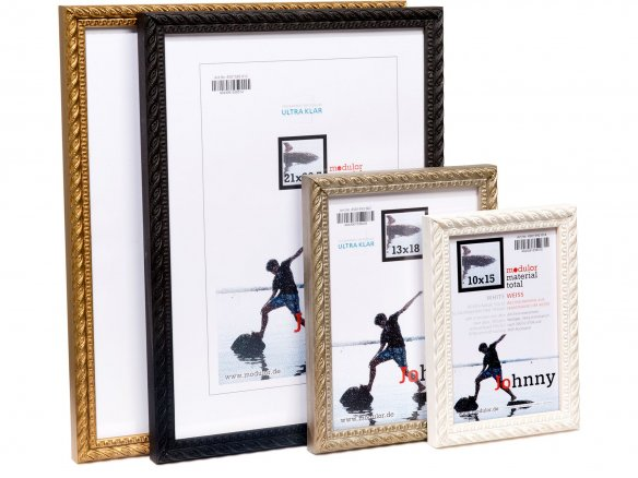 Interchangeable photo frame, wood, Johnny