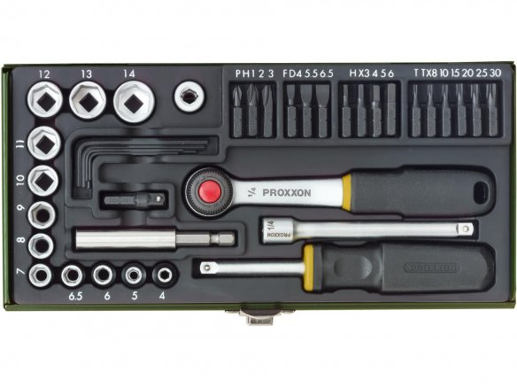 Proxxon 39 piece socket set