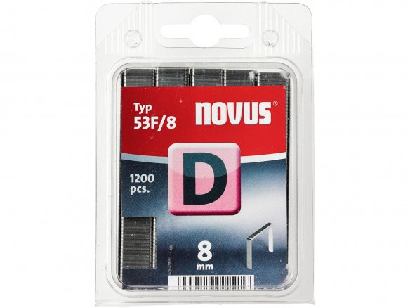 Novus flat wire staples D 53 F