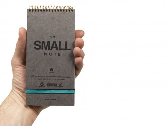 Jstory The Small Note, notepad with elastic fastener