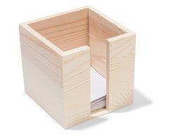 Notepad box, wood
