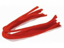 Chenille wire (pipe-cleaner), coloured