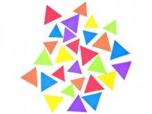 Moosgummi Dreiecke selbstklebend, farbig