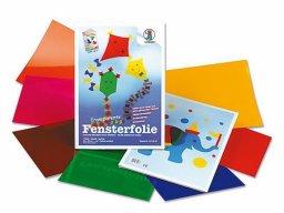 Handicrafts folder, coloured window film, transp.