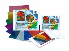 Cuaderno manualid., papel transp. (papel cristal)