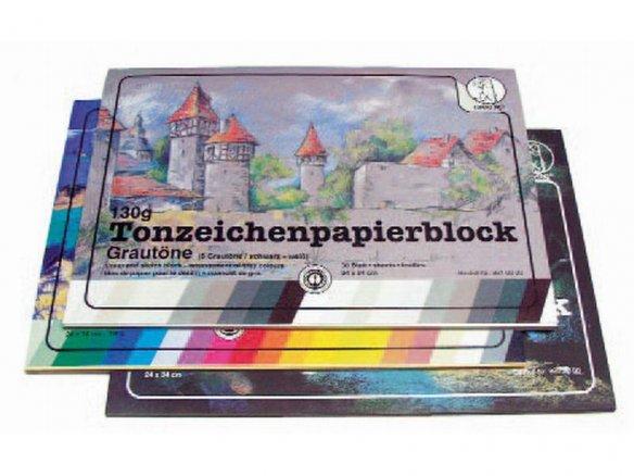 Tonzeichenpapier Block