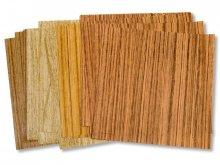 Fogli pieghevoli carta di legno per origami
