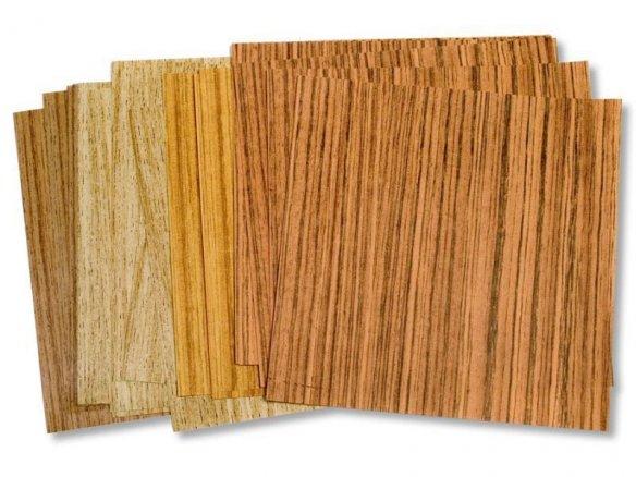 Origami Faltblätter aus Holzpapier