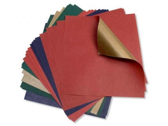 Papel plegable para papiroflexia, papel 2 colores