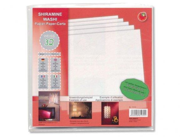 Japanese origami paper Shiramine Washi