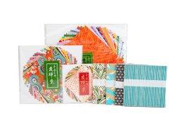 Papel para papiroflexia japonés, estampado a mano