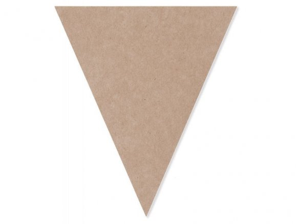 Paper Poetry paper pennant