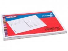 Blank postcard block