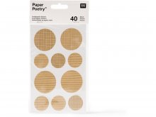 Paper Poetry Kraftpapier Sticker
