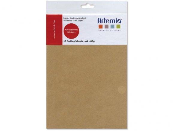 Kraft paper, self-adhesive