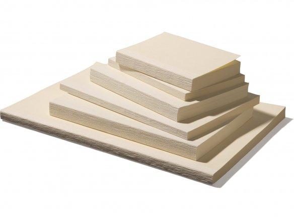 Blank book block
