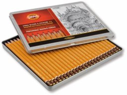 Koh-i-Noor Hardtmuth 1500 pencil, set