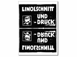 Anleitung Linolschnitt und Druck