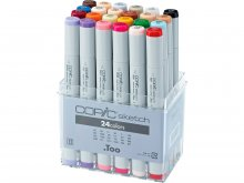 Copic Sketch sets, set of 24