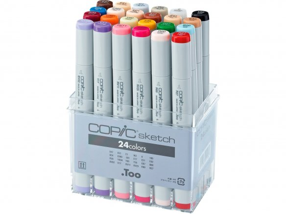 Copic Sketch Sets, 24er-Set