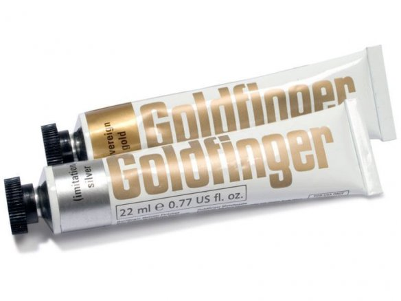 Daler-Rowney Goldfinger metallic paste
