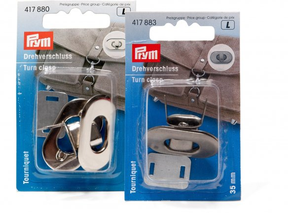 Prym turn clasp for bags